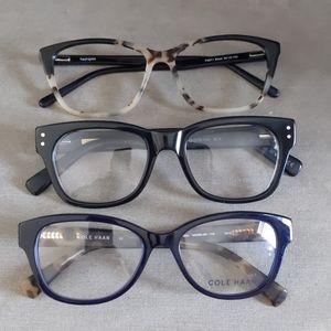 Lot of eyeglass frames